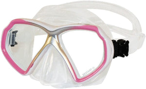 Beuchat X Contact Mask Clear Pink