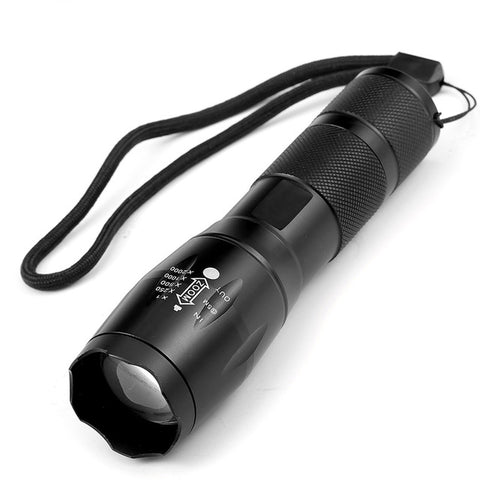 High-Quality Waterproof Survival Flashlight with Adjustable Beam Focus