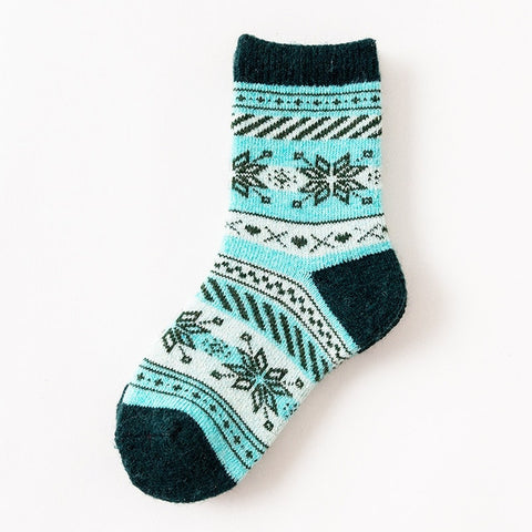 Kids Winter Wool Socks