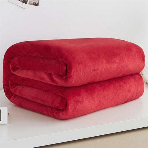 Fleece Blanket Throw