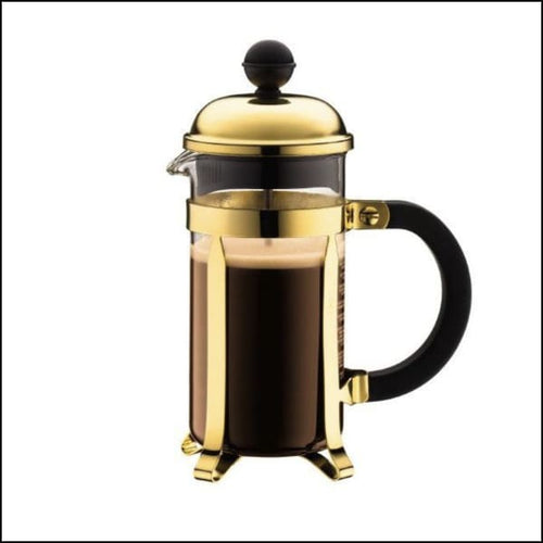 Bodum Chambord Cup Press - Gold - 3 Cup - French Press