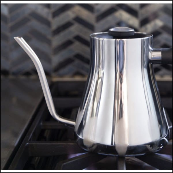Fellow Stagg Pour Over Kettle - Silver - Kettle Pour Over
