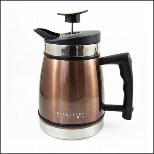 French Press With Bru-Stop 32oz - Mocha - French Press
