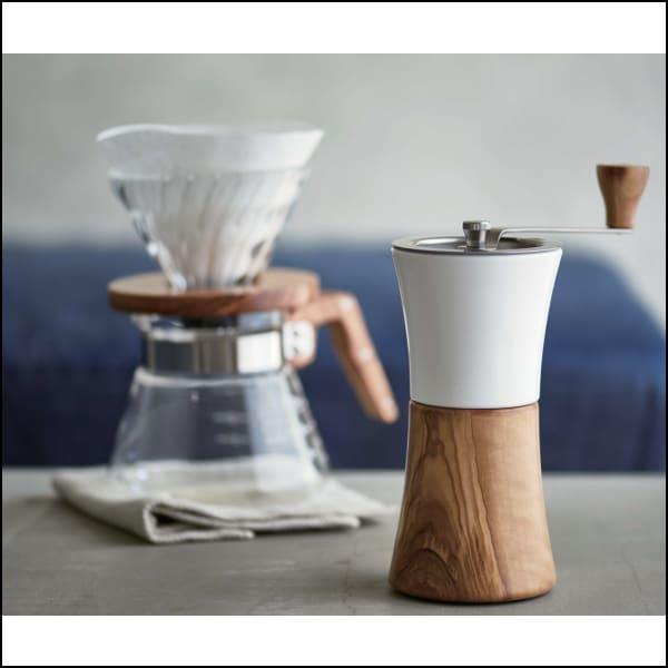 Hario Coffee Mill - Olive Wood - Hand Grinder