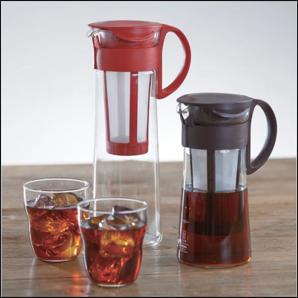 Hario Cold Brew Pot 600ml - Red - Cold Brew