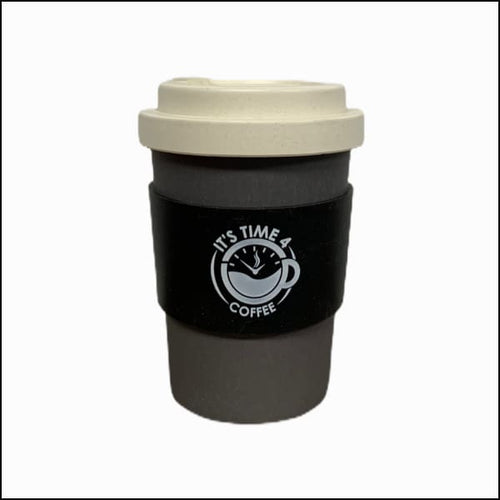 Perky Black Reusable Coffee Cup 12oz - Takeaway Cup