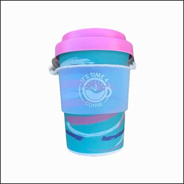 Perky Ocean Reusable Coffee Cup 12oz - Takeaway Cup