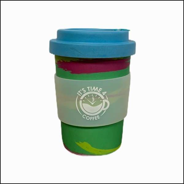Perky Planet Reusable Coffee Cup 12oz - Takeaway Cup