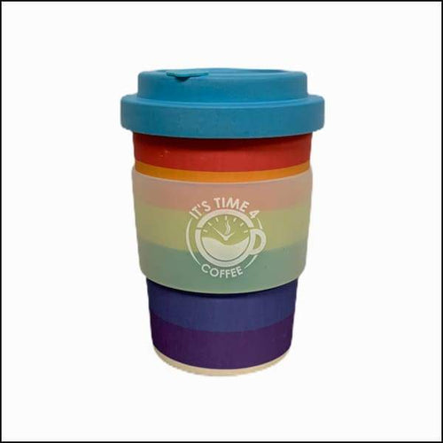 Perky Pride Reusable Coffee Cup 12oz - Takeaway Cup