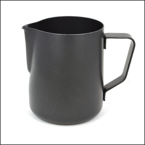 Rhino Stealth Milk Pitcher - Black - 360ml/12oz - Milk Jug