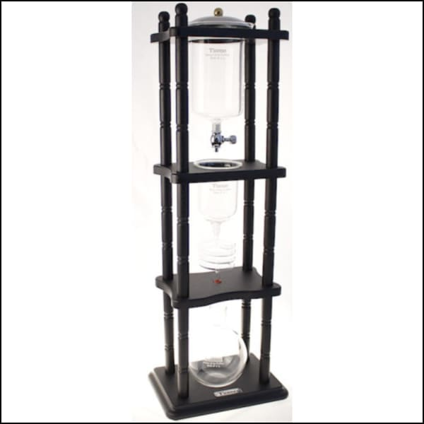 Tiamo HG2713BK Cold Drip Tower 6-8 Cups (Black) - Cold Drip Tower