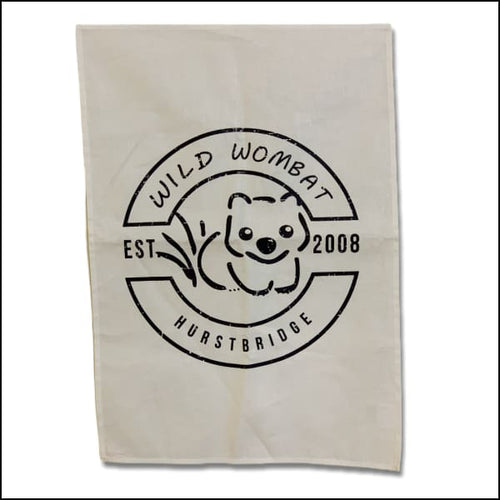 Wild Wombat Tea Towel - Tea Towel
