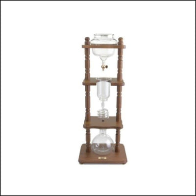 Yama Cold Drip Coffee Maker - 6-8 Cup - Brown - Cold Drip Tower