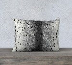 "Spotted Sealskin 20""X14"" Pillow Case"