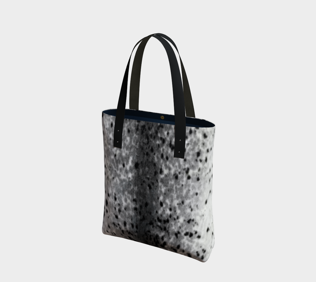 Sealskin Print Tote bag