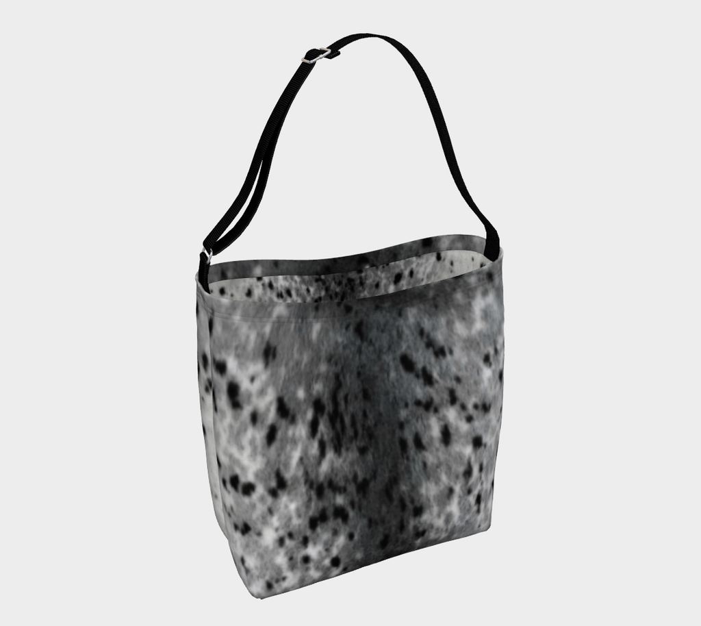 Spotted Sealskin Print Stretchy Tote