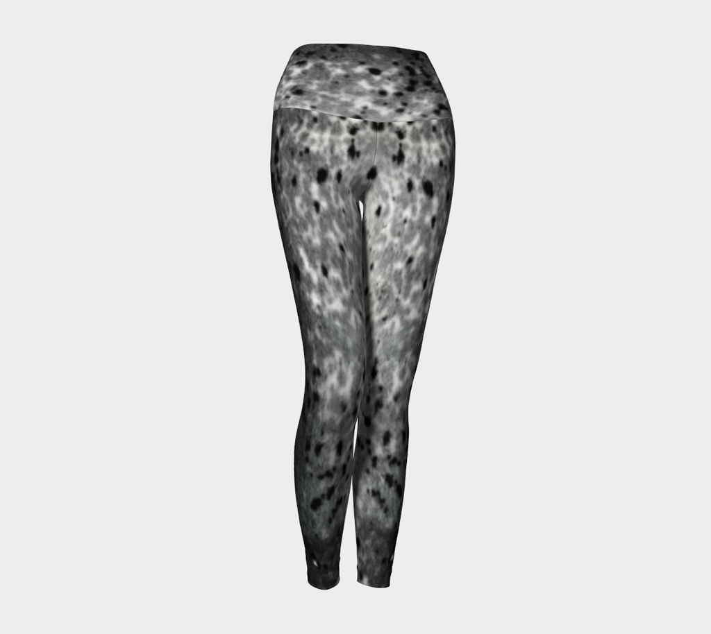 Spotted Sealskin Print Yoga Leggings