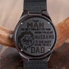 MY MAN VER.2 - HUSBAND DAD - WOOD WATCH