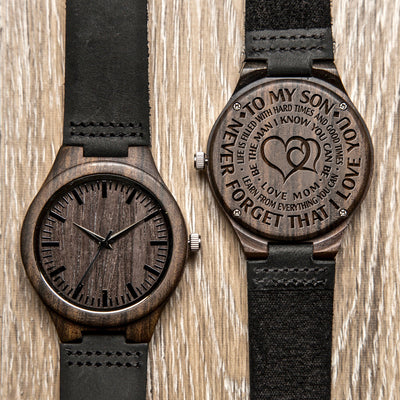 SON MOM - BE THE MAN - WOOD WATCH