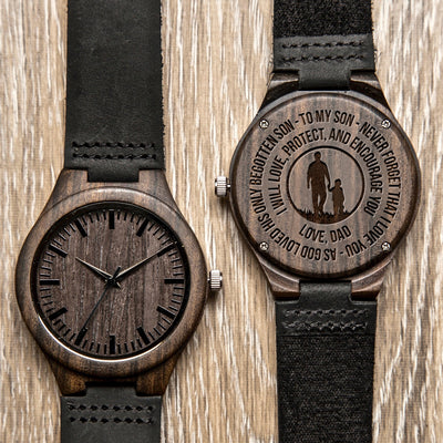 SON DAD - BEGOTTEN - WOOD WATCH