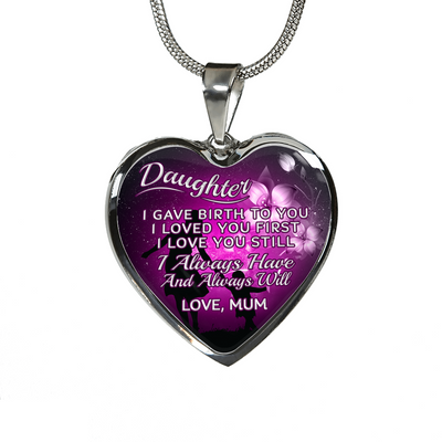 DAUGHTER MUM NECKLACE - ALWAYS HAVE ALWAYS WILL
