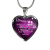 DAUGHTER DAD NECKLACE - ALWAYS HAVE ALWAYS WILL