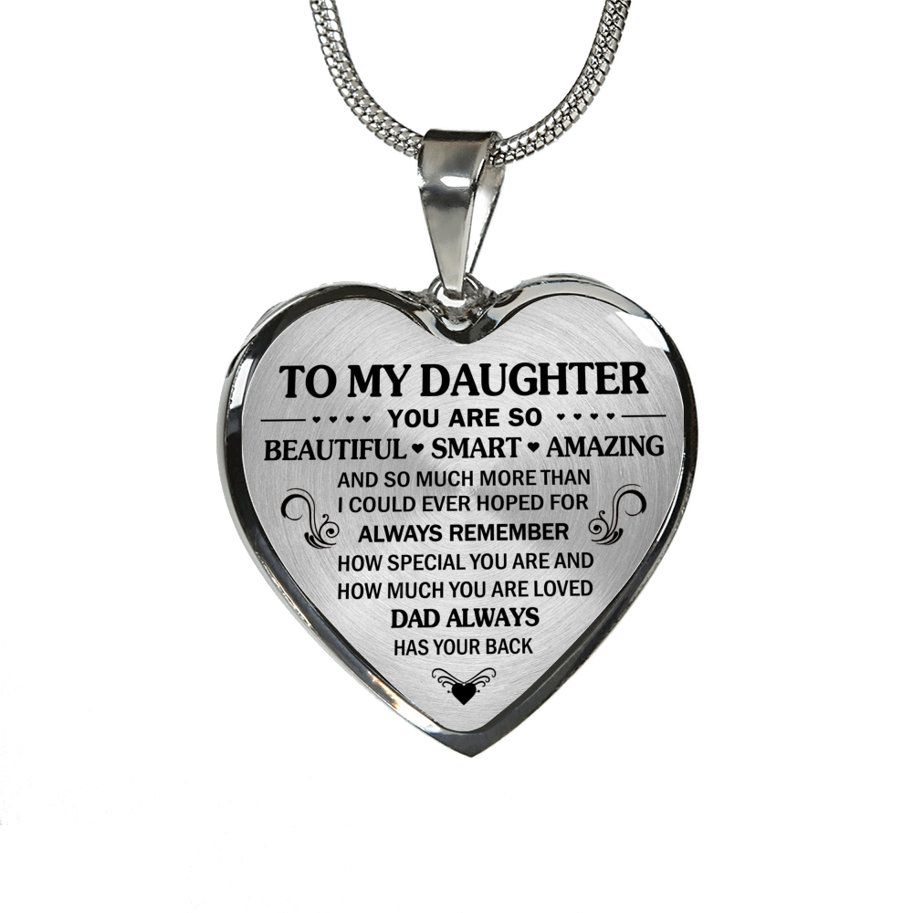 DAUGHTER DAD - HAS YOUR BACK