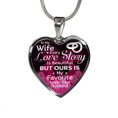 MY WIFE - LOVE STORY (SILVER)