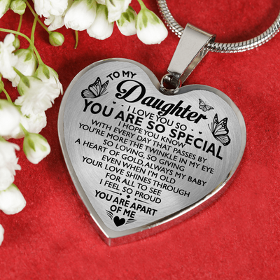 DAUGHTER - YOU ARE SO SPECIAL