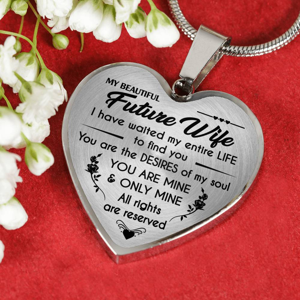 MY BEAUTIFUL FUTURE WIFE - PERFECT GIFT - LOVE GIFT