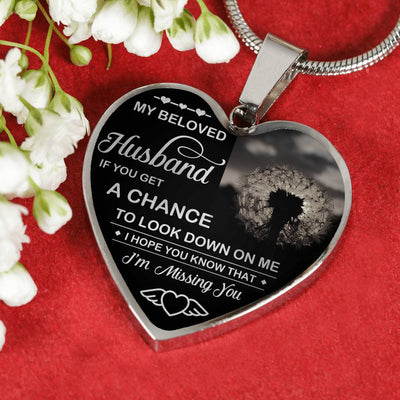 MY BELOVED  HUSBAND - CHANCE - SILVER