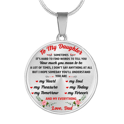 DAUGHTER DAD - YOU ARE MY EVERYTHING
