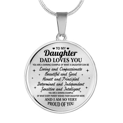 TO MY DAUGHTER - PROUD OF YOU- GIFT FROM DAD