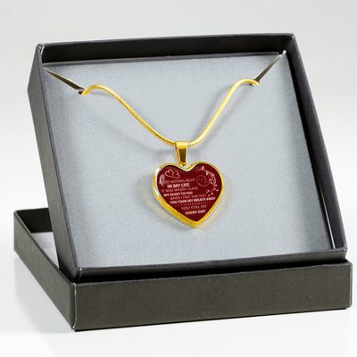 I DID GAVE MY HEART TO YOU - REAL 18K GOLD FINISH