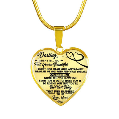 DARLING - LUXURY NECKLACE - PERFECT GIFT