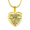 DAUGHTER MOM - HIGH QUALITY NECKLACE - BEST GIFT FOR YOUR DAUGHTER