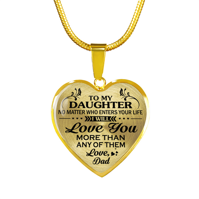 DAUGHTER DAD - LOVE YOU MORE