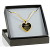 TO MY GRANDDAUGHTER - LUXURY NECKLACE - GRANDDAUGHTER & GRANDPMA
