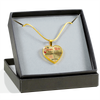 MY FUTURE WIFE - PERFECT GIFT - REAL 18K GOLD FINISH + SILVER