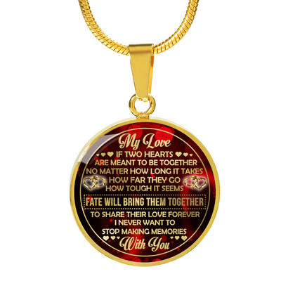 MY LOVE - NECKLACE - PERFECT GIFT