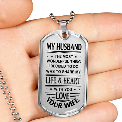 MY HUSBAND - SHARE MY LIFE AND HEART WITH YOU