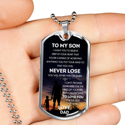 SON DAD - NEVER LOSE (SILVER)