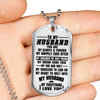 TO MY HUSBAND - DOG TAG