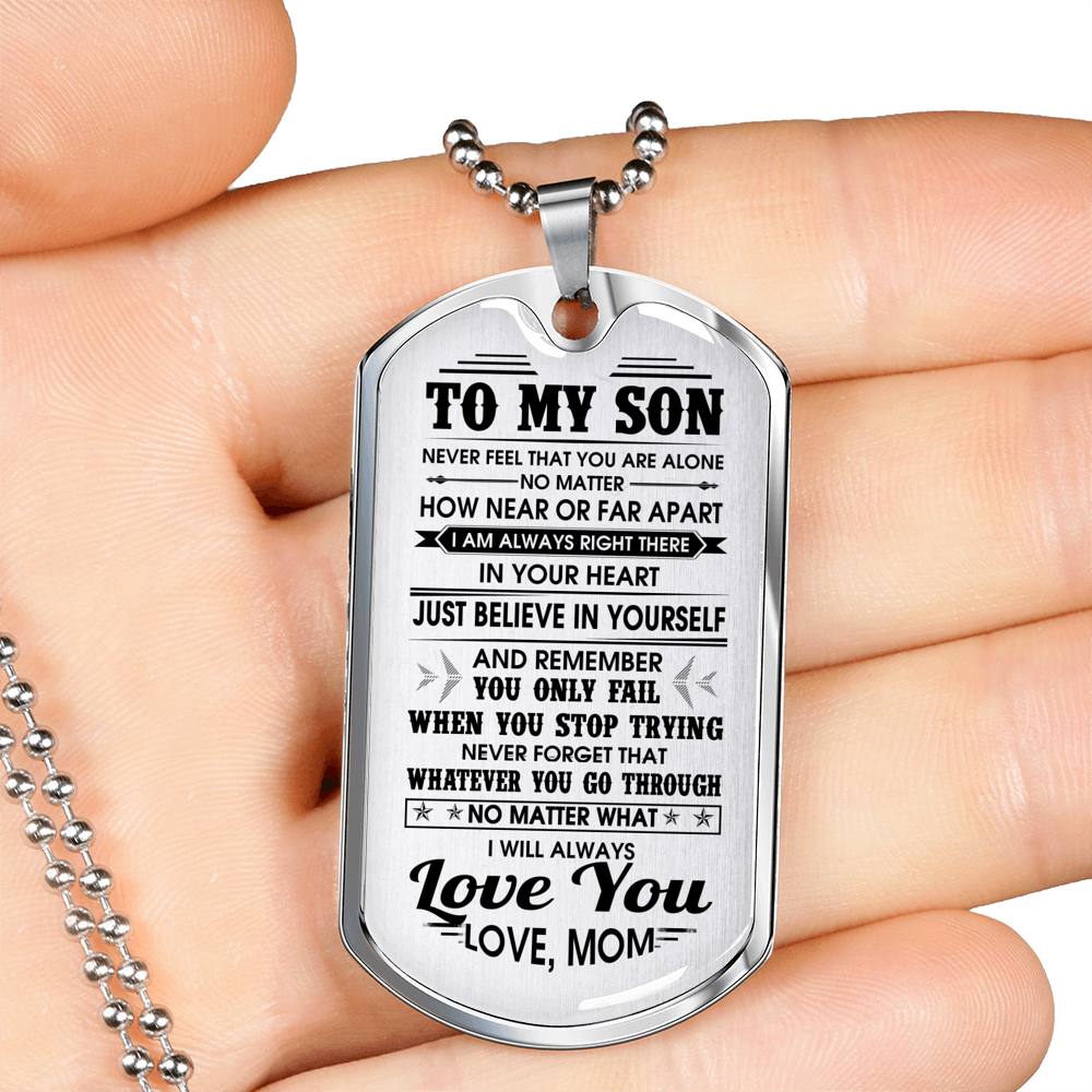 SON MOM - ALWAYS LOVE YOU (SILVER)