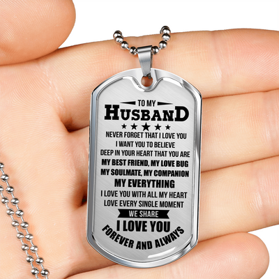 HUSBAND - FOREVER AND ALWAYS