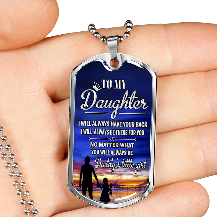 DADDY'S LITTLE GIRL - DOG TAG