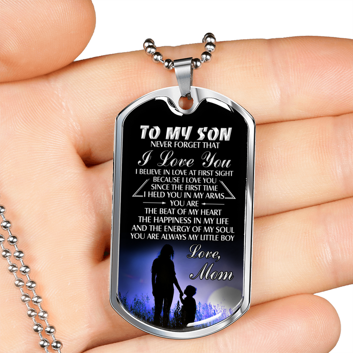 SON MOM - NEVER FORGET (SILVER)