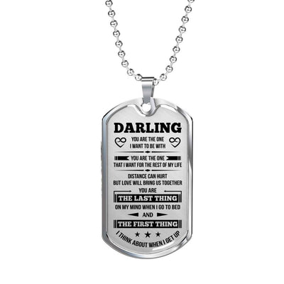 BEST GIFT FOR YOUR MAN - HIGH QUALITY DOG TAG