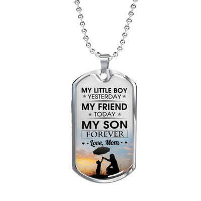 MY SON FOREVER - SON & MOM