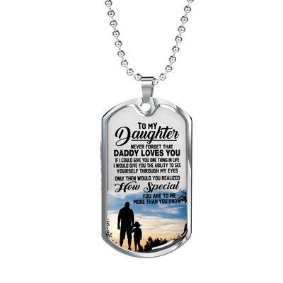 DAUGHTER DAD - HOW SPECIAL (SILVER)
